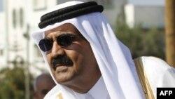 Эмир Катара шейх Хамад бин Халифа Аль Тани.