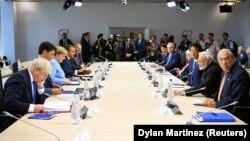 2019-njy ýylyň awgustynda G7 ýurtlarynyň liderleri maslahat geçirýärler.