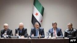 نشست مخالفان حکومت بشار اسد در ژنو