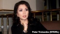 Актриса Венера Нығматулина. Алматы, 28 қазан 2016 жыл.