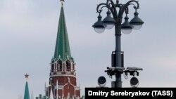 Камеры видеонаблюдения в Москве, иллюстрационное фото