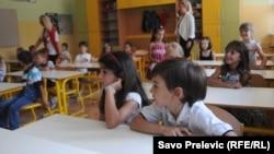 Prvi dan škole u Podgorici, ilustrativna fotografija