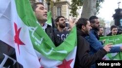 Suriyalılar oktyabrın 30-da keçirilən danışıqlara etiraz edirlər
