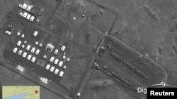 На снимке, опубликованном агентством Reuters, изображен батальон артиллерии под Новочеркасском.