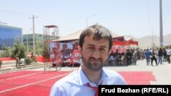 Abdullah Khudadat, one of the organizers of the Anti-Fraud Movement