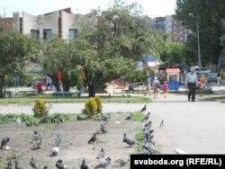 На вуліцах Славянска – мір