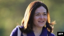 Sheryl Sandberg, chief operating officer at Facebook