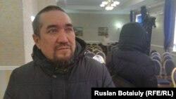 Толеубай Жангалиев, житель села Оразак Целиноградского района Акмолинской области. 8 января 2016 года.