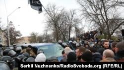 Автомобиль, в котором удерживали Саакашвили