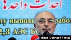 İranın atom enerjisi təşkilatının rəhbəri, Ali Akbar Salehi