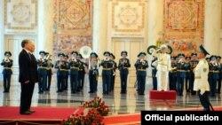 Официальный визит президента КР в Казахстан.