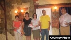 Լրագրողական մրցանակների հանձնման արարաողությունը Երեւանի մամուլի ակումբում, 18 հուլիս, 2011