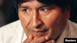 Боливия Президенти Эво Моралес.