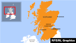 Շոտլանդիայի քարտեզը