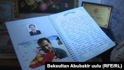 Дневник об Алишере, который ведет мать журналиста.