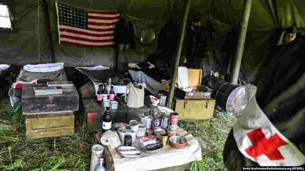 У польовому шпиталі армії США
