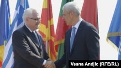 Ivo Josipović i Boris Tadić (2011)