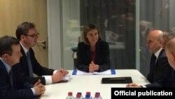 Ilustrim - Një nga raundet e dialogut Kosovë-Serbi në Bruksel