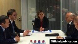 Një nga raundet e dialogut ndërmjet Kosovës dhe Serbisë në Bruksel
