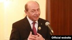 Traian Băsescu la Chișinău