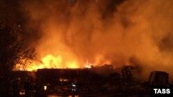 Число пожаров мало изменилось по сравнению с прошлым годом