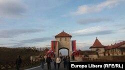 La intrarea în Fortăreața Tighina