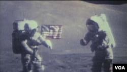 Astronauti Eugene Cernan i Harison Schmitt na Mjesecu