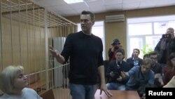 Алексей Навальный в суде