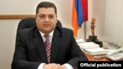 Armenia - Lori Court Judge Khachatur Khachatrian.