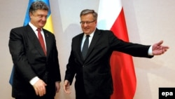 Президенти України та Польщі