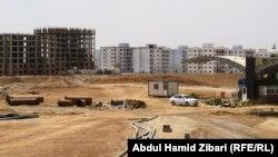 اربيل مجمع سكني قيد الانشاء