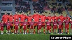 Фудбалска репрезентација на Македонија.