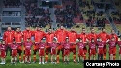 Macedonia - Macedonia's national football team.