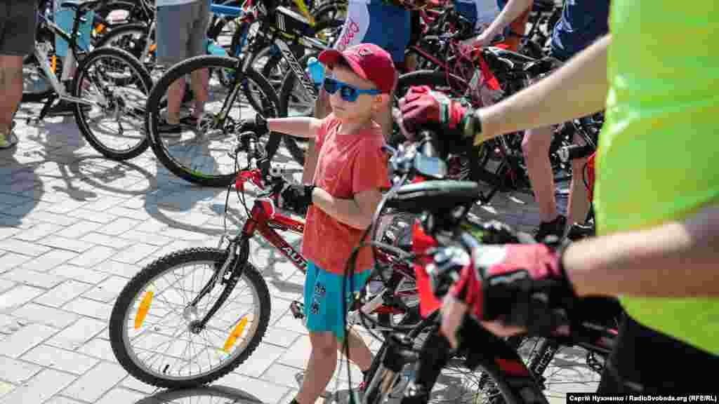 Участь у велодні міг взяти будь-хто, незалежно від віку...