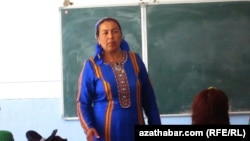 Урок в средней школе, Туркменистан