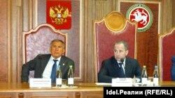 Рустам Минниханов и Михаил Бабич