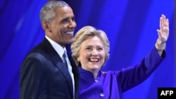 Barack Obama və Hillary Clinton