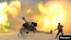 Артилерійський удар урядових сил Іраку в районі Фаллуджі, 29 травня 2016 року