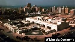 Біріккен Араб Әмірліктеріндегі Абу-Даби қаласы.