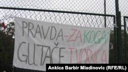 Sa prosvjeda radnica Kamenskog, Zagreb, 27. rujan 2010