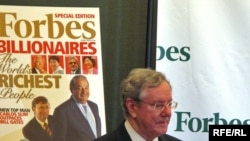 "Kryeredaktori i revistes ""Forbes"", Steve Forbes (arkiv)"