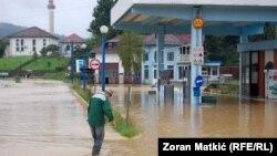 Drugi talas poplava u Gradačcu, 6. avgust 2014.