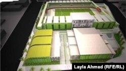 نموذج معماري لمجمّع نادي الزوراء الجديد