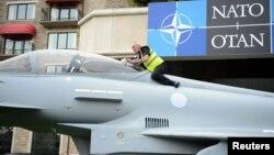 В преддверии саммита НАТО в Ньюпорте, Уэльс, 3 сентября