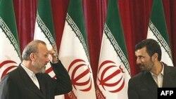 محمود احمدی نژاد و منوچهر متکی