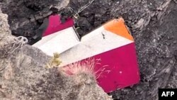 Уламки німецького літака, що розбився в Альпах, 24 березня 2015 року