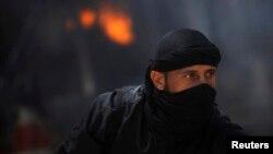 Luftëtar i opozitës siriane, foto nga arkivi