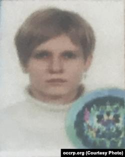 Паспортное фото Анны Богачевой из расследования Buzzfeed и OCCRP