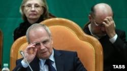 Голова Конституційного суду Росії Валерій Зорькін
