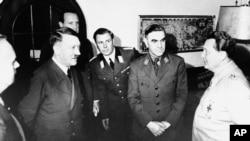 Njemačka - Adlof Hitler u društvu Ante Pavelića i Hermana Geringa, 1941. godina